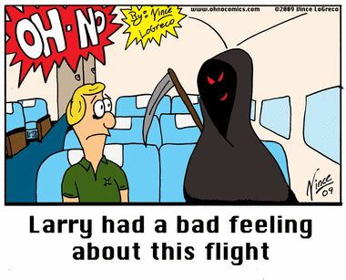 Death Rides A Plane (part two)